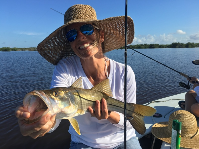 Great inshore fishing charters going on. Snook are in!